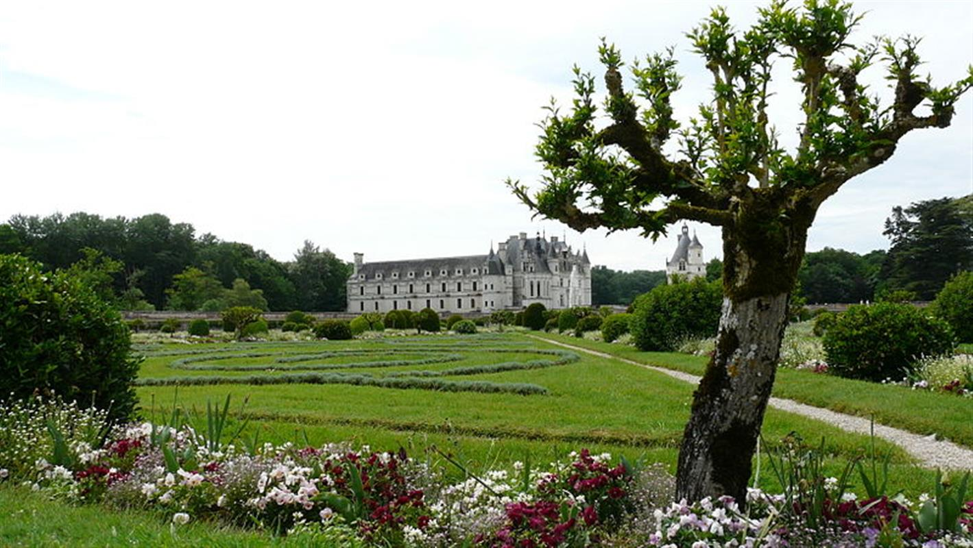 Jardins de chenonceau ch teau de la rolandi re for Les jardin de catherine